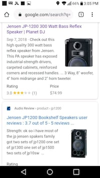 Dj speakers