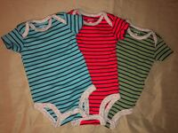 Babyboy white and blue stripe tank top Los Angeles, 90006