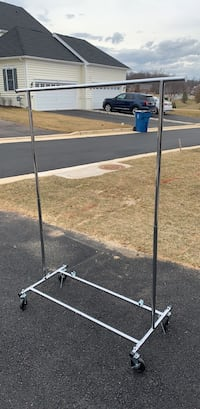 heave duty clothes rack. Brand new. (3 available) 25 each or 60 for all three. Firm on price   Ashburn, 20148