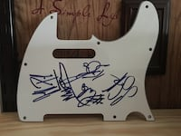 FOREIGNER SIGNED PICK GUARD Sumrall, 39482