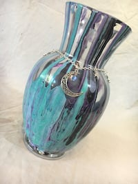 Large acrylic paint pour vase Los Angeles, 91344