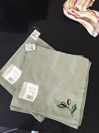 12 embroidered napkins for $10 Los Angeles, 90015