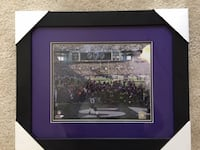 Ray Lewis Ravens Picture, NFL authentic Sterling