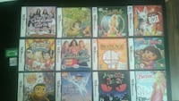 12 assorted Nintendo DS games