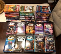 STARWARS books -30 pcs, pick up cash only Lorton, 22079