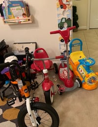 4 kids bikes scooter Herndon, 20171