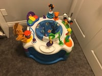 Baby entertainment saucer