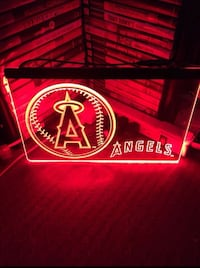 LOS ANGELES ANGELS LED NEON LIGHT SIGN SIZE 8x12 La Mirada, 90638