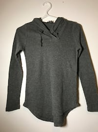 Grey long sleeve. Size small