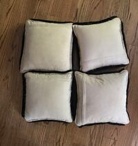 three red-and-brown throw pillows Great Falls, 22066