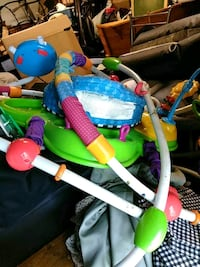 baby's green and blue jumperoo Columbus, 43232