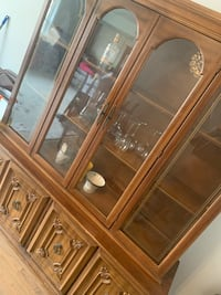 Antique china closet