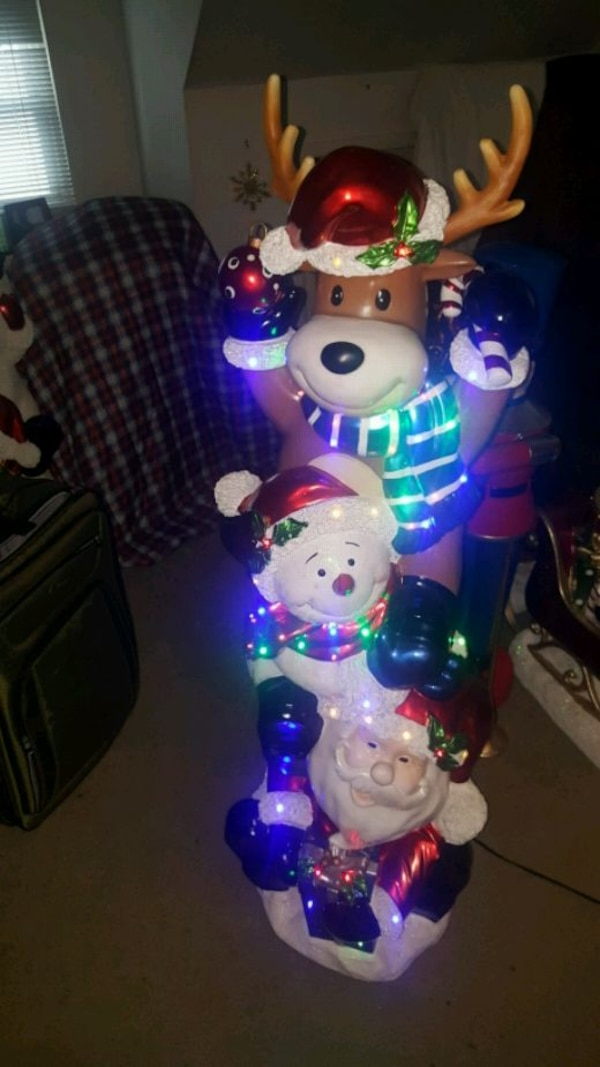 7b8cd63ad Used 6ft led Christmas statue for sale in Franklin Square - letgo