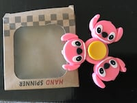 pink stitch hand spinner Winnipeg, R2R 1C7