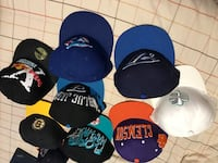 six assorted color fitted caps Vaughan, L4K 5L5