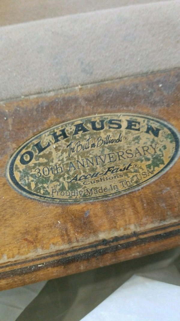 Used Olhausen Th Anniversary Pool Table Double Slate For Sale In - Olhausen 30th anniversary pool table price