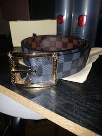 Size 34 -36  LV double side traditional buckle Toronto