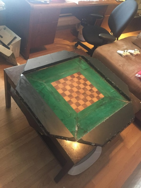 Chess Coffee Table
