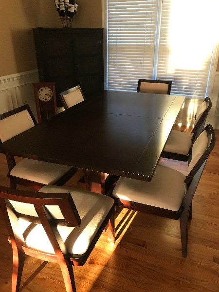 used dining room table chairs for sale in cumming letgo rh gb letgo com