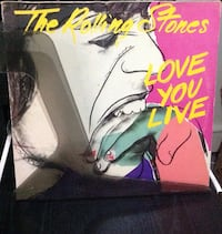 The Rolling Stones - Love You Live - 2 LP İstanbul