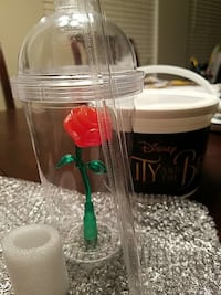 Beauty and the Beast Rose Tumbler Cup   Ontario, 91761