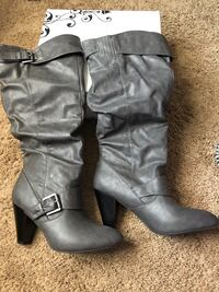 Rampage grey boots Clarksville, 37042