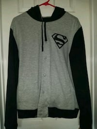 Batman/superman reversible jacket