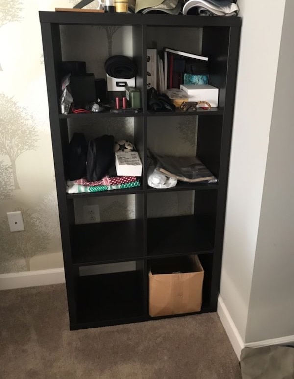 Perfect condition 8 shelf book case