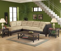 NEW Josephine Light Coco Upholstered Sectional Sofa Charlotte, 28216