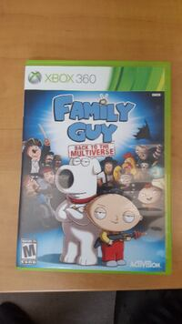 Family Guy Back to the multiverse XBOX 360 Bradford West Gwillimbury