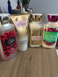 Brand new Lotions 5$ each or 15$ for all