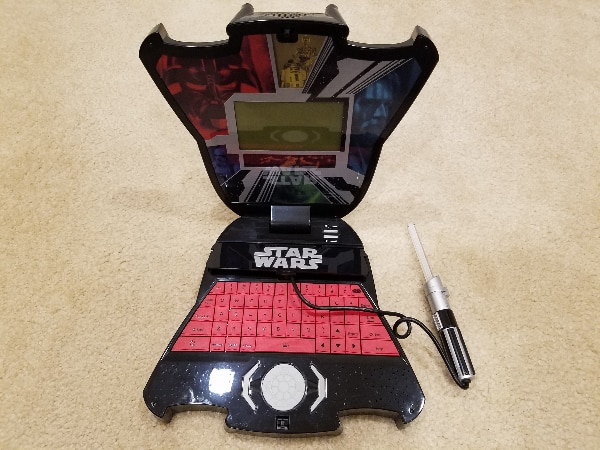 Oregon Scientific Star Wars Darth Vader Laptop