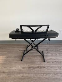 DK7000 Piano, Chair, theory books and Sam Ash music lessons