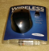Wireless mouse and receiver