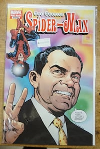 THE AMAZING SPIDER MAN MARVEL 1970 VARIANT COMIC BOOK 599