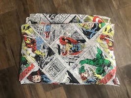 Marvel Comics Twin Bedding Duvet