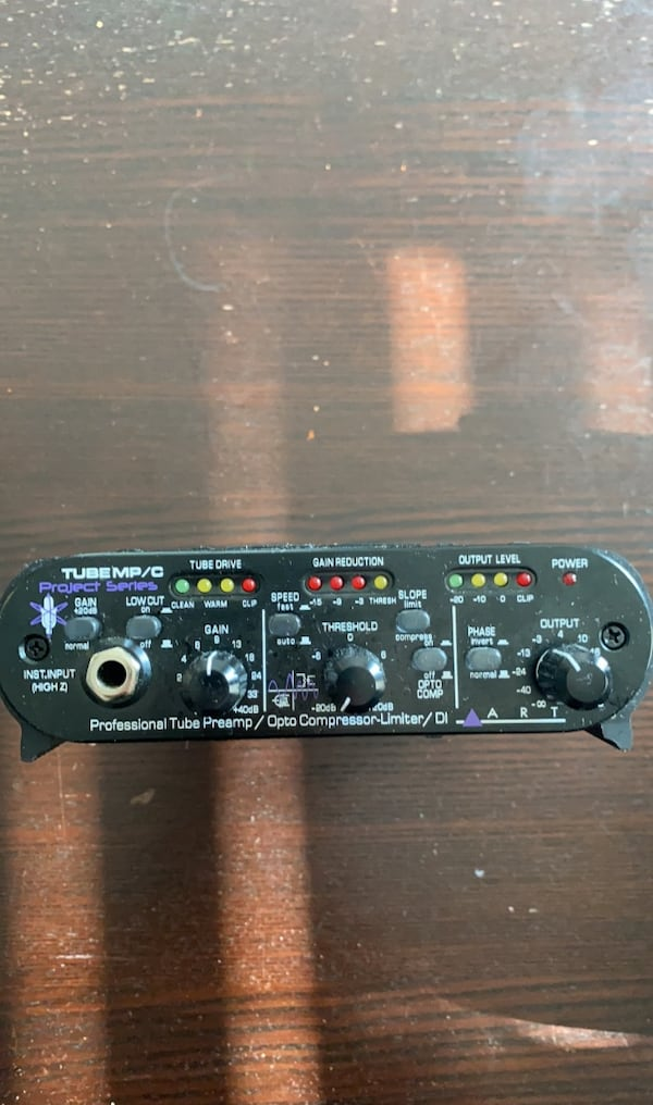 ART Tube MP/C Microphone Preamplifier and Compressor 3148432d-cffa-4140-a567-938037774903