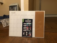 Black and white calendar organizer : monthly, weekly, daily Arlington, 76010