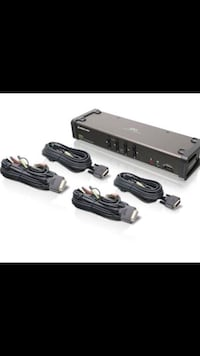 IOGEAR GCS1104 4-Port USB DVI KVMP Switch Voorhees, 08043