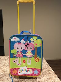 blue and red Hello Kitty luggage 1188 mi