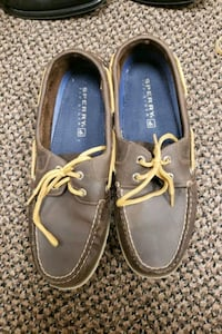 Sperry brown shoes s9 Oklahoma City, 73127