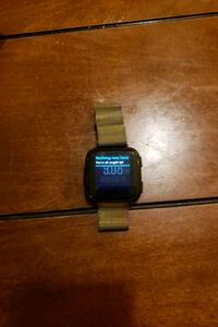 FitBit versa (no charger included)