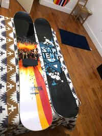 Selling 2 snowboards 150/155 cms 30$ EACH New York, 11207
