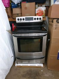 gray and black induction range oven Gaithersburg, 20877