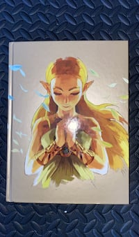 Zelda breath of the wild official guide Toronto, M6P 1N1