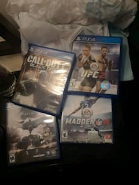 Ps4 games  Easley, 29640