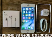 Gold Iphone 6S Regular 64GB UNLOCKED w/ Accessorie Arlington