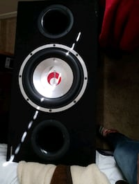 """amp and 12"""" sub woofer"""