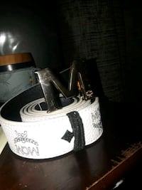 mcm reversible belt white Milton, L9T