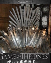 Love seat size iron throne- custom hand made - over 100 hrs